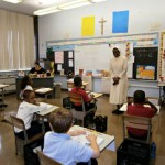Oblate Sisters Visit Classrooms - Sept. 2012 - 9 Photos