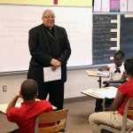 Bishop Murry Visits Our School--October 16, 2013--12 Photos